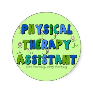 Physical Therapy Assistant Gifts Stickers