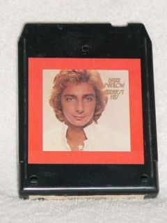 Barry Manilow Greatest Hits Vintage 8 Track Tape Stereo Music
