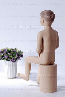 amt mannequins sitting male child mannequin model don