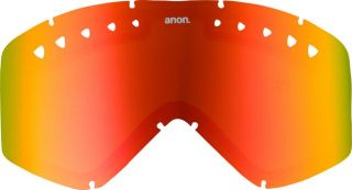 Anon Majestic Goggle Replacement Spare Lens Red Mirror
