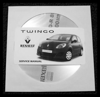 Renault Twingo II Manual de Taller Workshop Manual Manuel Reparation