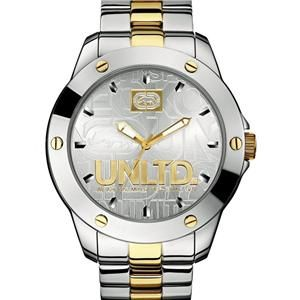 Brand New Marc Ecko Stainless Steel Two Tone Mens Watch E12531G1