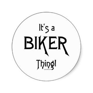 Its a Biker Thing! Sticker