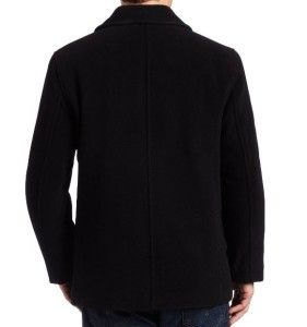 New Mens Marc New York Andrew Marc Wool Blend Peacoat Double Breasted