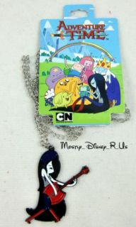 Adventure Time with Finn and Jake Marceline Axe Guitar Charm Pendant