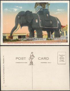 Photo Postcard Atlantic City NJ Elephant Hotel 632004