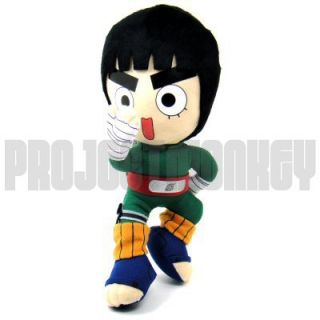 Naruto Rock Lee Plush Doll Japanese Anime Manga Licensed