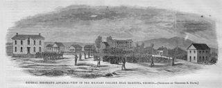 Marietta Georgia Military College Civil War History