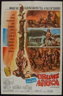 drums of africa 1963 frankie avalon mariette hartley condition