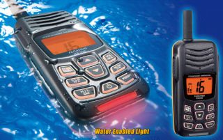 Horizon HX300 Floating Handheld VHF Portable Marine Radio