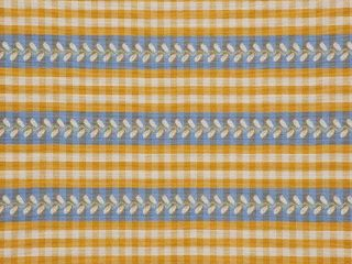 Marielle French Country Gingham Upholstery