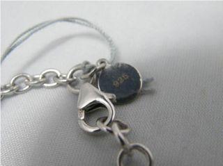 New Angelique de Paris Purple Heart Sterling Silver Bracelet