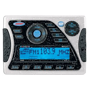 Waterproof Am FM iPod Sirius Radio Ready Marine Stereo Reman