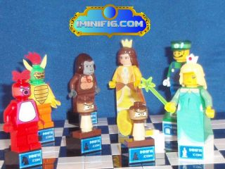 Lego Custom Super Mario Chess Pieces 031C