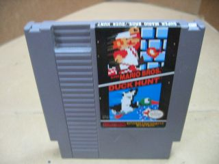 Nintendo Rev A Super Mario Brothers Duck Hunt Cartridge