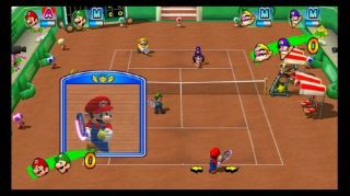 New Nintendo Wii Mario Power Tennis New Play Control