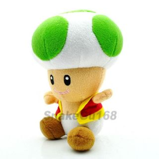 Green Toad Super Mario Brother Plush Doll Toy MX188
