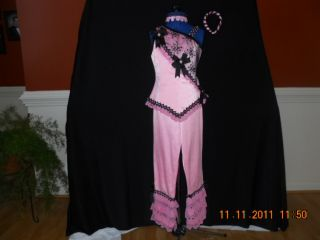 Pangeant Outfit of Choice Sports Wear Pink and Black Pant Suit