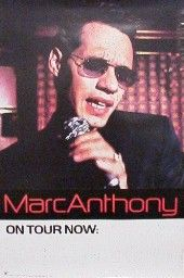 Marc Anthony Poster Cool Face Shot Mark Promo