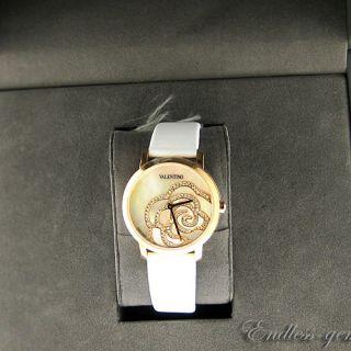 Valentino Womens V41SBQ5091SS001 Rose Gold TNE 114 Diamonds MOP Dial
