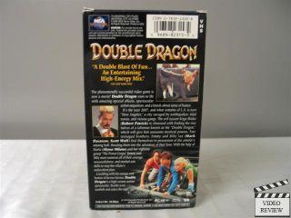 Double Dragon VHS Mark Dacascos, Scott Wolf, Robert Patrick, Alyssa