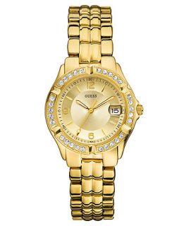 GUESS Watch, Womens Gold Tone Mixed Metal Bracelet 36mm U85110L1