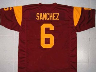 Mark Sanchez USC Trojans College Jersey Maroon New Any Size