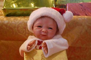 Reborn Santa Baby Krissy Kringle RARE Marsha Kit Christmas Gift