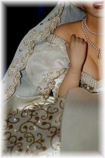 OOAK Marilyn Monroe Franklin Mint Porcelain Doll Repaint American