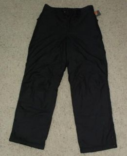 Mens Champion C9 Insulated Black Snow Ski Pants Sz M
