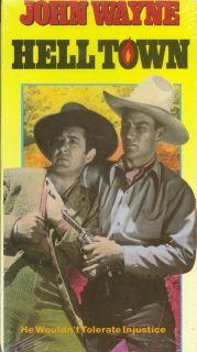 Hell Town, John Wayne, Marsha Hunt $3 S&H NEW