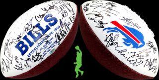2012 Buffalo Bills Team Signed NFL Football Ball Fitzpatrick Stevie