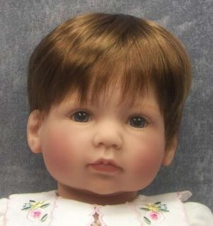 New Lee Middleton Doll Simple Treasures Baby Doll Reva Schick w COA
