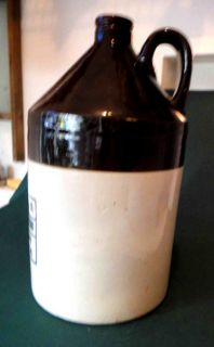 Antique Stoneware Jug Crock Thos Martindale Co Groceries Philadelphia