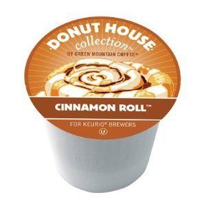 96 Keurig K Cups Green Mountain Coffee Donut House Cinnamon Roll Exp 1
