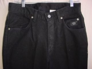 Harley Davidson Mens Jeans Black   Traditional   size 33 x 34   meas