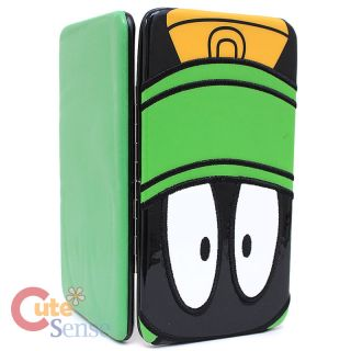 Looney Tunes Marvin Hinge Wallet Check Book Flat Wallet