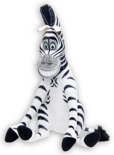 Zebra Marty 8 Soft Toy Plush Doll Movie Madagascar