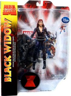 New Marvel Select Exclusive Action Figure Black Widow