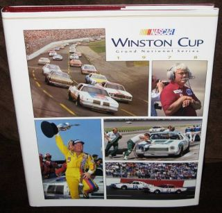NASCAR Winston Cup Grand National Series Yearbook 1978 HC w DJ