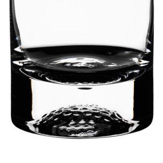 Orrefors Tee Crystal Clear Fine Heavy Tumblers Highball Glass New Box
