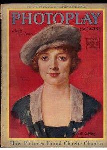 Photoplay Magazine April 1919 Marjorie Rambeau Charlie Chaplin