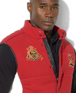 Polo Ralph Lauren Big and Tall Vest, Country and Crest Vest