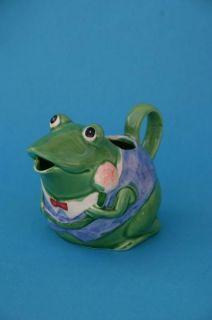 Otagiri Japan Frog Creamer Hand Painted Mary Ann Baker