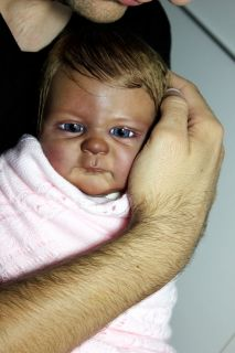 Reborn) REBORN BABY GIRL DOLL SERAPHINA BY ELISA MARX + TUMMY PLATE