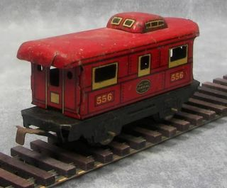 Marx Tin Trains Commodore Vanderbilt Engine 5 Cars O Scale 1934 1972