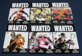 Complete Series First Prints Image 2003 Millar Jones