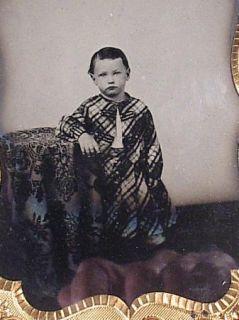 1857 Child Image L P Co Case Cherub Riding Stag
