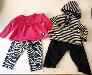 22 Piece Baby Girl Winter Fall Clothing Lot Shoes 12 18 MO Months Gap
