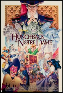 The Hunchback of Notre Dame 1996 Original U s One Sheet Movie Poster